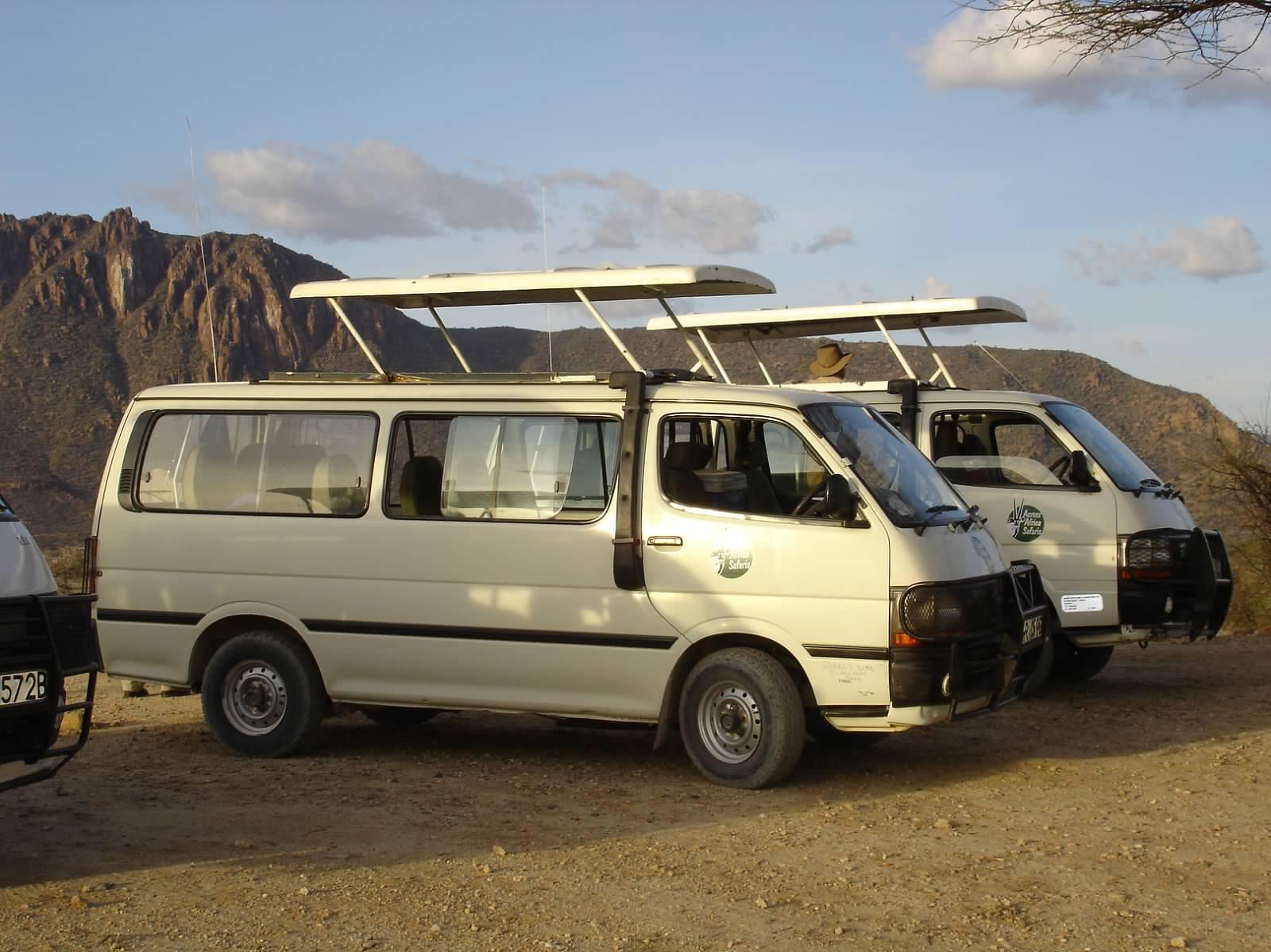 tour vans kenya