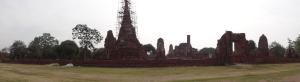 Ayutthaya Ruins Panorama