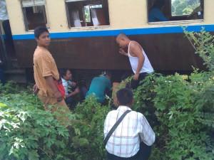 Myanmar Train