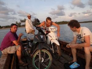 Myanmar Ferry Boat