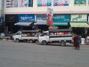 Local Pick-up Myanmar