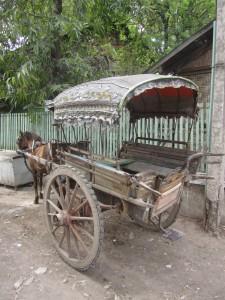 Myanmar-Burma-horse-cart