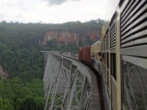 Myanmar-Burma-train