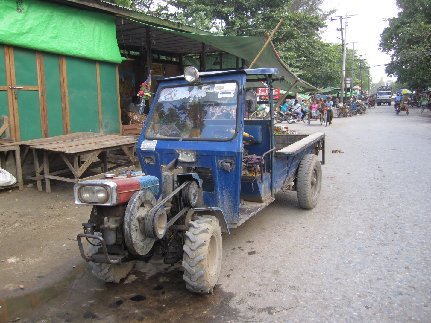 Myanmar-Burma-vehicle