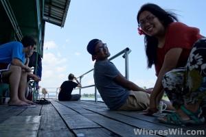 Tasik-Kenyir-House-Boat-on-deck
