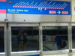 Getting to KL Sentral Station (2)