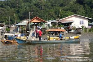 Bako-Boat-Trip-Village