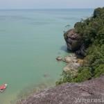 Bako-cliff-view
