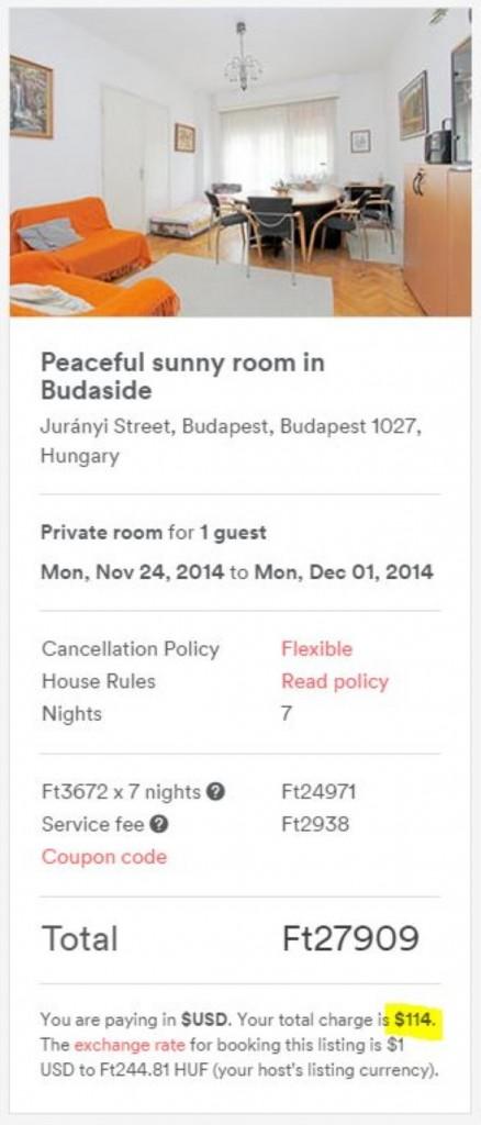 Airbnb local (Medium)